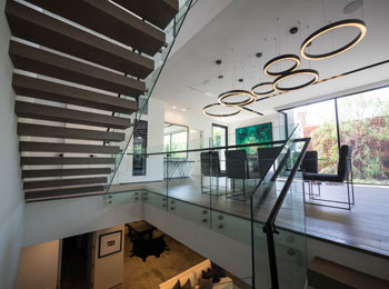Glass Balustrade in home
