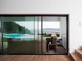 Multi sliding doors glass design and build london ltd for Multi sliding glass doors