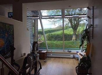 Glass Windows inside home