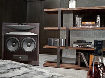 Audio equipment matching interior